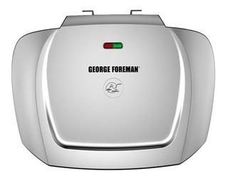 Parrilla eléctrica George Foreman GR2144P 220V plata