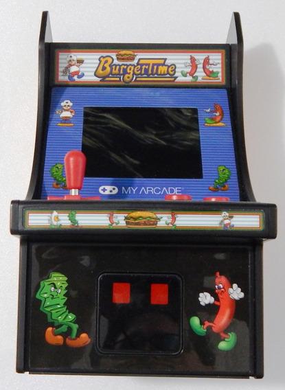 Console My Arcade Game Burguer Time 320 Mp Novo Sem Caixa