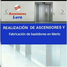 Ascensores Residenciales, Montacargas Y Trabajos En Obra.