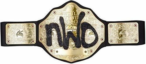 Imagen 1 de 4 de Wwe Nwo Campeonato Cinturón Libre De Frustraciones Embalaje