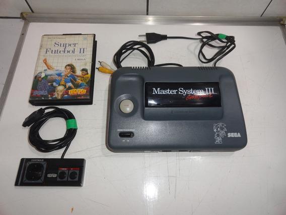 Sega Master System 3 Compact Console Sonic E Mod Av C03