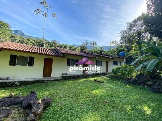 Pousada Com 5 Dormitórios À Venda, 78 M² Por R$ 692.000,00 - Horto Florestal - Ubatuba/sp - Po0004