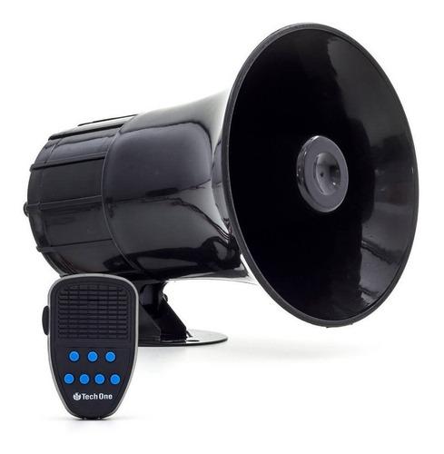 Sirene Policia Tipo Rontan Megafone 7 Tons Carro Moto Alarme