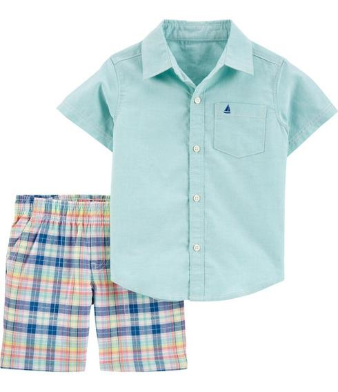 Conjuntos Carters Niño Playera O Camisa Y Short