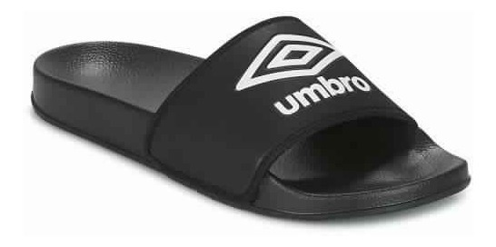 Chinelas Umbro Locker Ngr/bco Sport Town Envios Caba Y Bs As