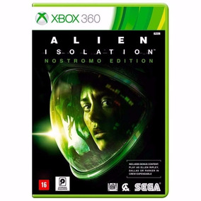 Jogo Alien Isolation Xbox 360 Mídia Física Novo Original