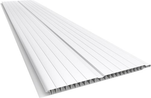 Imagen 1 de 3 de Cielorraso De Pvc Blanco Rustico De 4m Barato