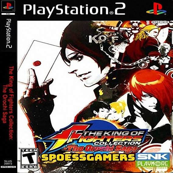 The King Of Fighters Ps2 Collection, The Orochi Saga Patch
