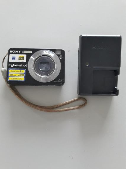 Câmera Digital Sony Dsc W120 Preta