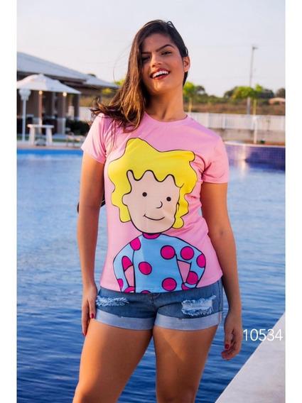 Camisa Estampa Da Paty Maionese E Mickey 3 Blusas