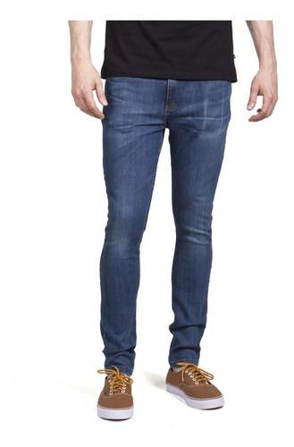 Pantalon Jeans Hombre Rusty Shelter Blue