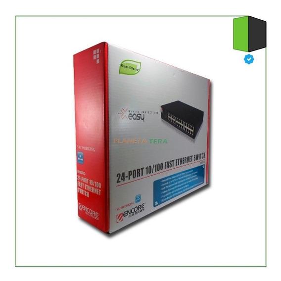 Switch 24 P 10/100 Green Ethernet Enh924-cx