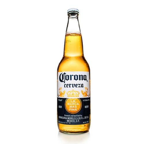 Imagen 1 de 5 de Cerveza Corona American Adjunct Lager Rubia Botella X 710ml