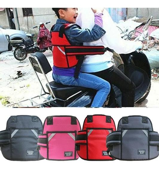 Arnés Cinturón De Seguridad De Niños Motos Bicicletas