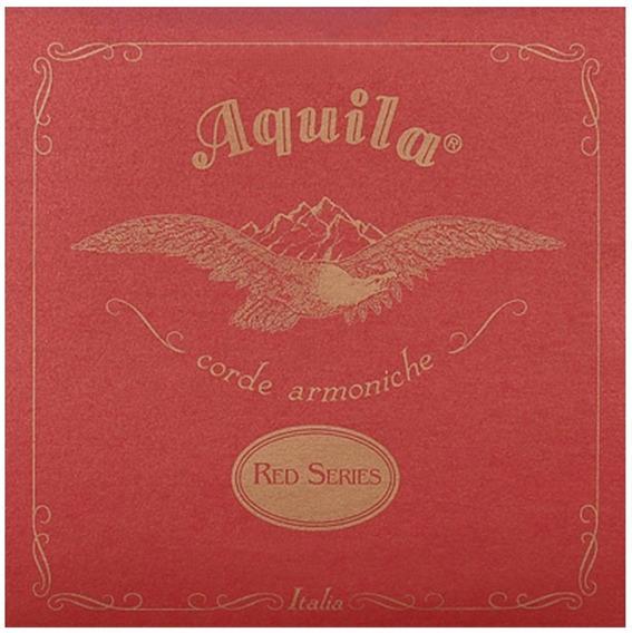 83u Jogo Cordas Ukulele Soprano New Red Series Aquila Italy