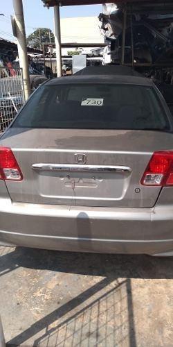 Sucata Honda Civic 1.7 Baixada Para Retirada De Peças