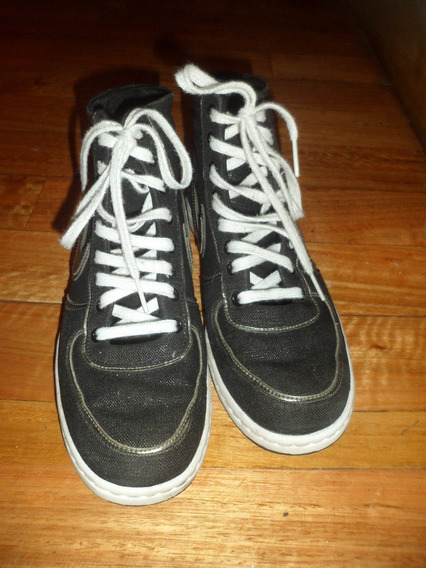 Botitas Negra Nike N°37 Excelente Estado