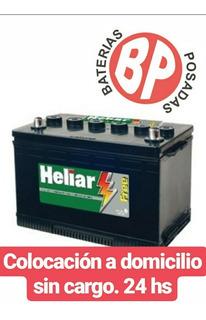 Batería Heliar 12x75(75ld) Toyota, Honda, Hyundai