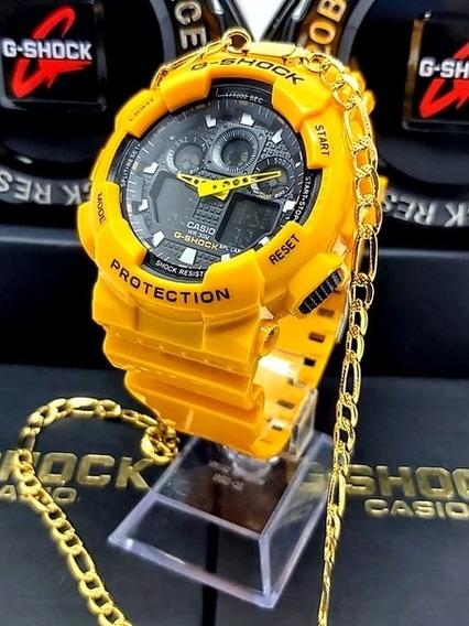 Mega Promoção Relógio G-shock + Grátis Corrente 70cm