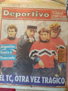Colección Diario Popular Sección Deportivo 1991