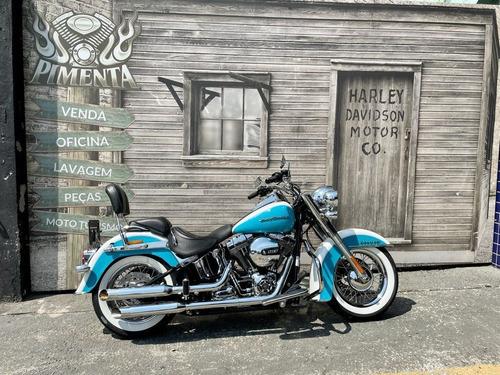 Imagem 1 de 13 de Harley Davidson Softail Deluxe