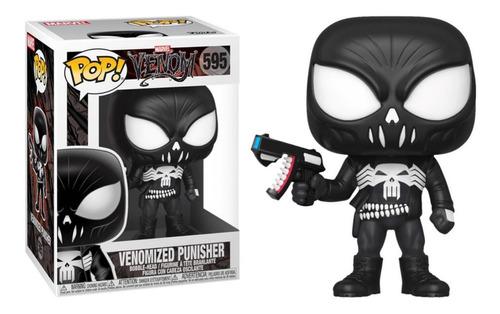 Funko Pop #595 Venomized Punisher - Marvel - 100% Original!