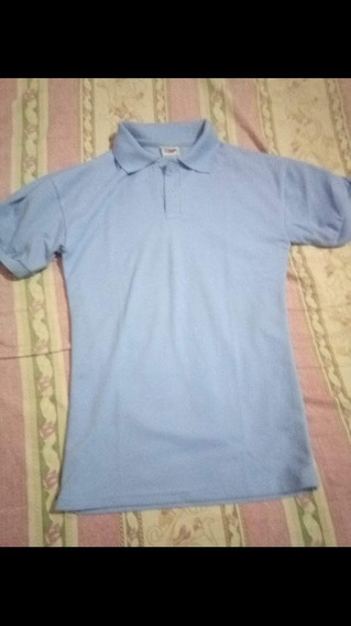 Camisas Del Liceo Color Azul (chemise)