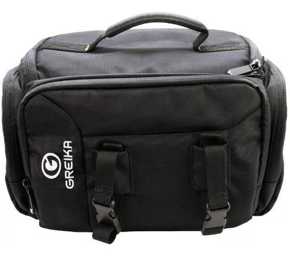 Bolsa Greika Kf13038 Para Câmera E Acessórios Fotográficos
