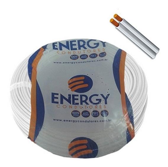 Cordão Paralelo 2x0.75mm 100 Metros Energy/sulflex