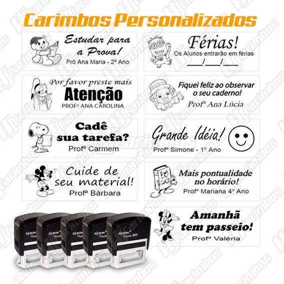 Carimbo Automático Personalizado - O Mais Vendido Do Ml!