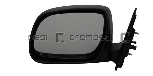 Espejo Toyota Hilux 2005 2006 2007 2008 2009 2010 2011 2012 2013 2014 2015 Manual Negro