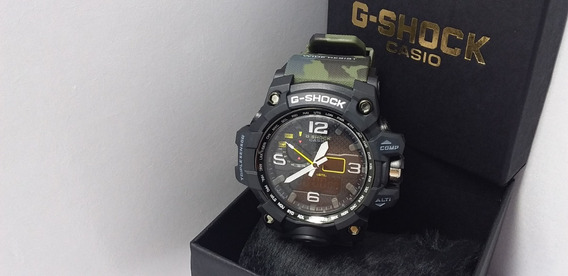 Relógio G-shock Mudmaster Camuflado Robusto A Prova De Agua