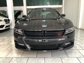Dodge Charger 5.7 R-t At 2015 Negro Quemacocos
