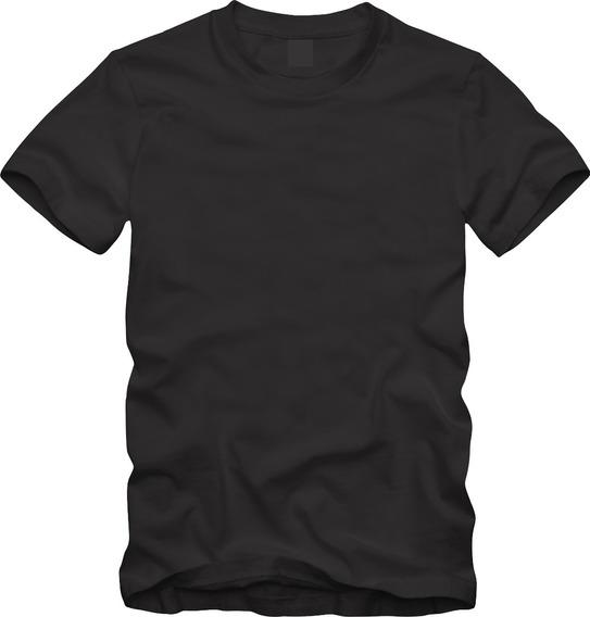 Camiseta Preta 100% Algodão Fio 30.1 Preço D Fabrica Atacado