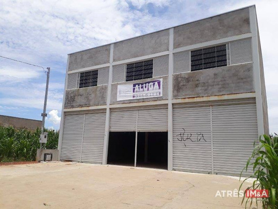 Galpão Para Alugar, 0 M² Por R$ 4.500,00/mês - Residencial Center Ville - Goiânia/go - Ga0001