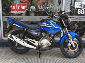 Moto Jianshe Js 125 6by 0km, Nuevo Modelo 2018 6b Tipo Ybr
