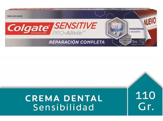 Colgate Sensitive Pro-alivio Reparación Diaria Crema 75 Ml