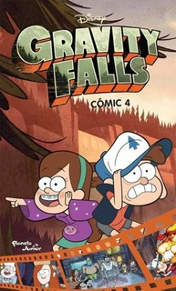 Libro Gravity Falls Comic 4, Disney