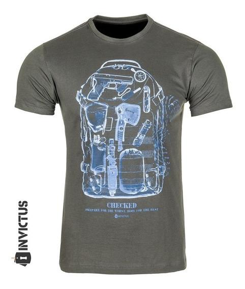 Camiseta T-shirt Concept Raio X Mochila Invictus