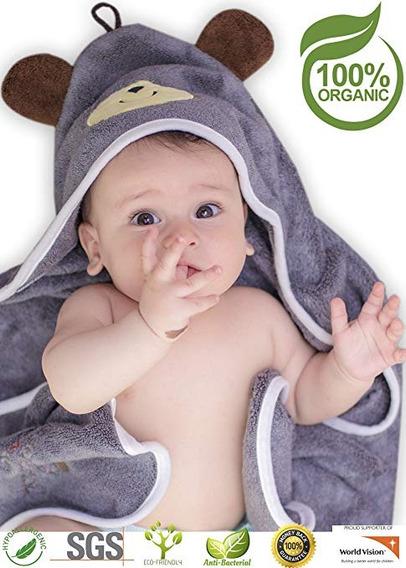 Toalla Con Capucha Para Bebé De Bambú Orgánico Artyish