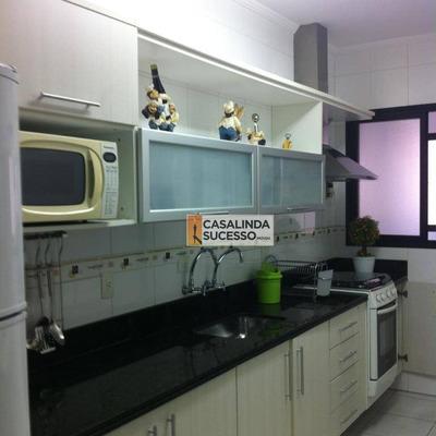 Apartamento 131m² 3 Dormts. 2 Vagas Próx. À Av. Presidente Castelo Branco - Ap5783 - Ap5783