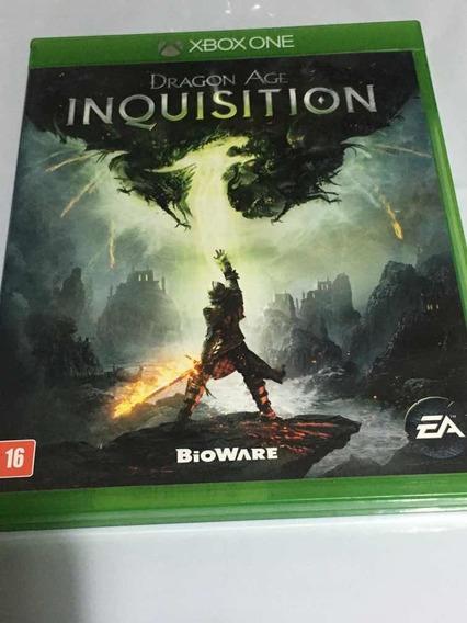 Jogo Dragon Age Inquisition Xbox One Mídia Física Semi Novo