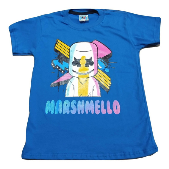 Remera Fornite Marshmello Fornite Brilla En La Oscuridad