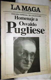 Homenaje A Osvaldo Pugliese Revista La Maga Año 1996