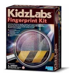 4m Kidlabs Fingerprint Kit Identificador Huellas Digitales