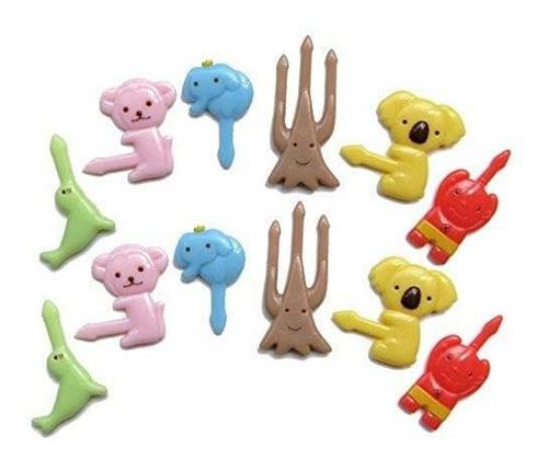 Imagen 1 de 2 de Cutezcute Bento Alimentación Pick, De 12 Piezas, Koala, Ár