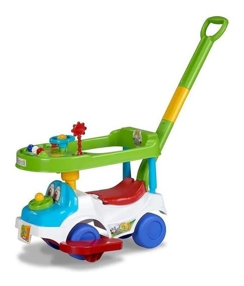 Andador Para Bebes Rondi 2en1 Maxi Star C/barra De Arrastre