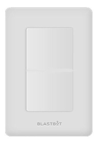 Apagador Inteligente Smart Switch Blanco 1 Botón Blastbot
