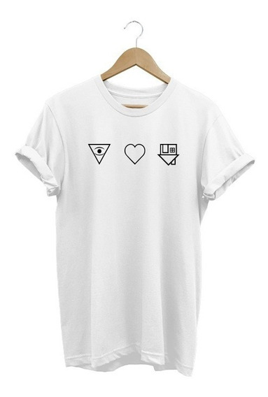 Camiseta Feminina The Neighbourhood | Símbolos Baby Look