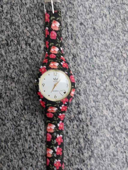 Relógio Feminino Florido